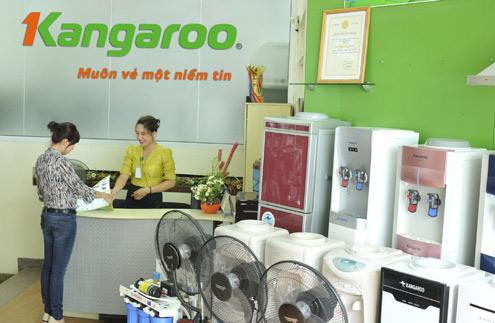 Showroom trung tâm phân phối máy lọc nước Kangaroo